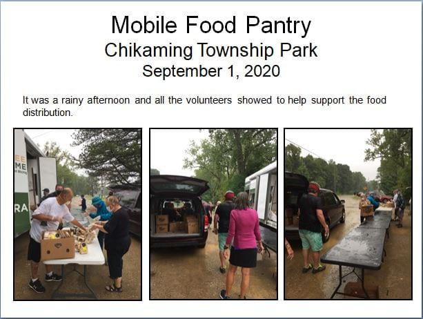 Mobile Food Pantry, 01Sep2020 distribution